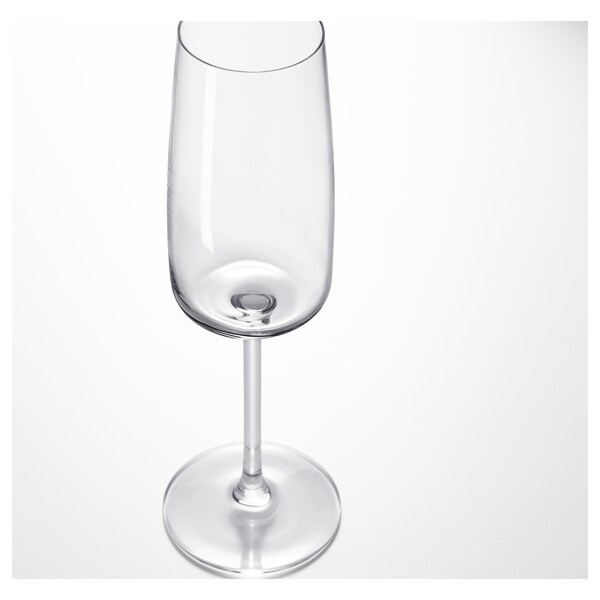 DYRGRIP champagne glass clear glass 23 cm 25 cl