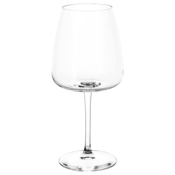 DYRGRIP Red wine glass, clear glass, 58 cl
