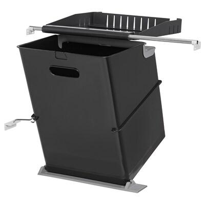 EBBEBO waste bin for cabinet with door 36 cm 36 cm 48 cm 35 l