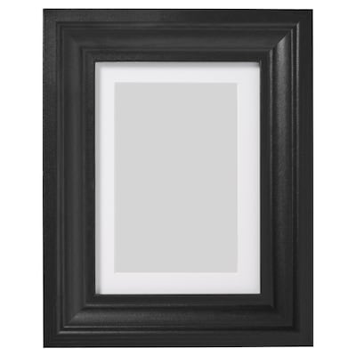 EDSBRUK Frame, black stained, 13x18 cm