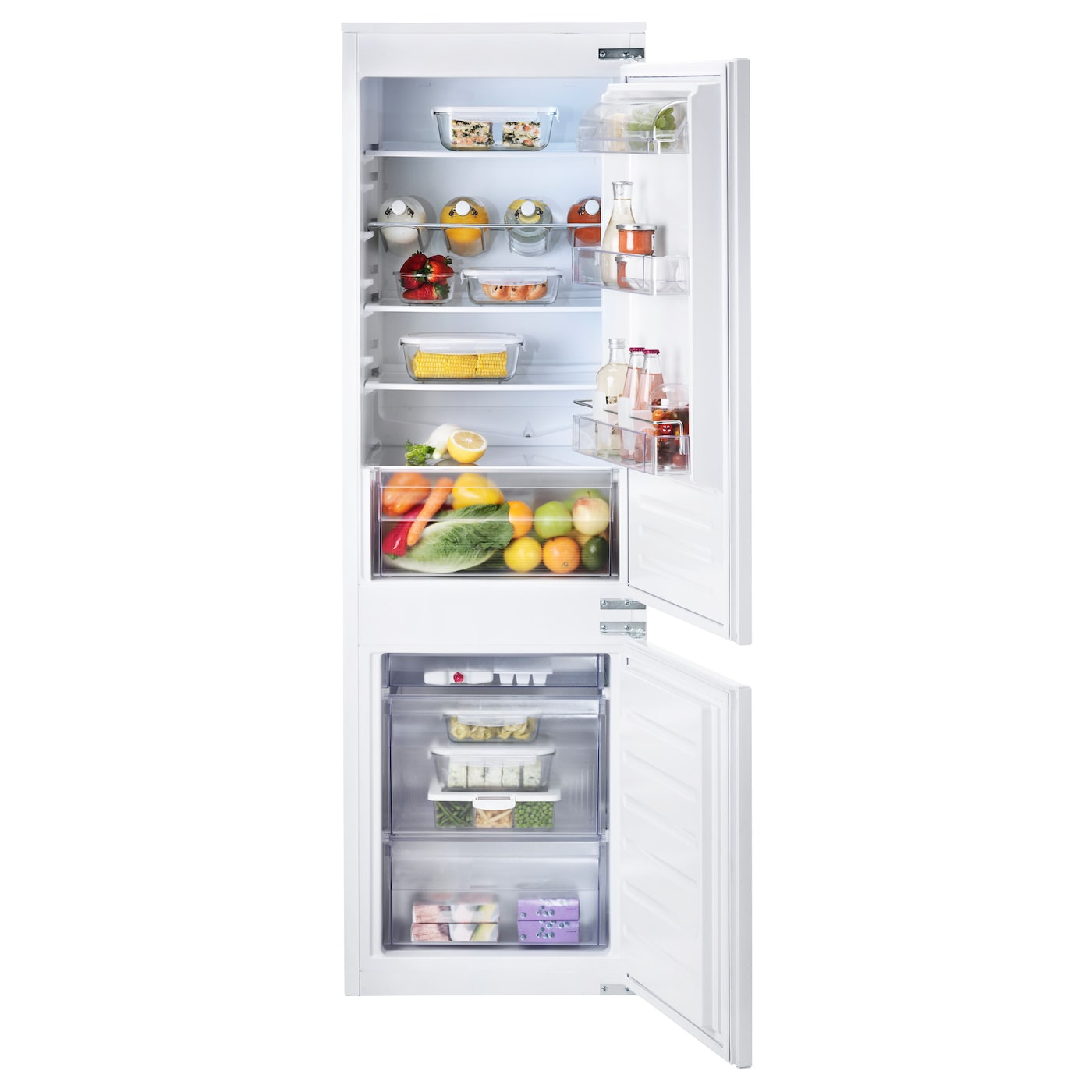 IKEA EFFEKTFULL integrated fridge/freezer A+