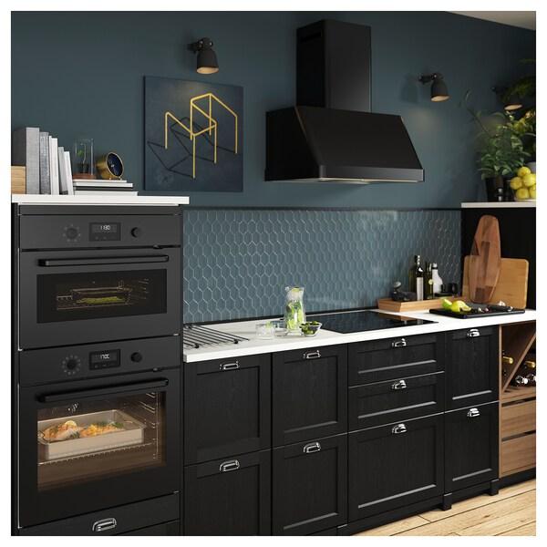 EFTERSMAK black, Microwave oven IKEA