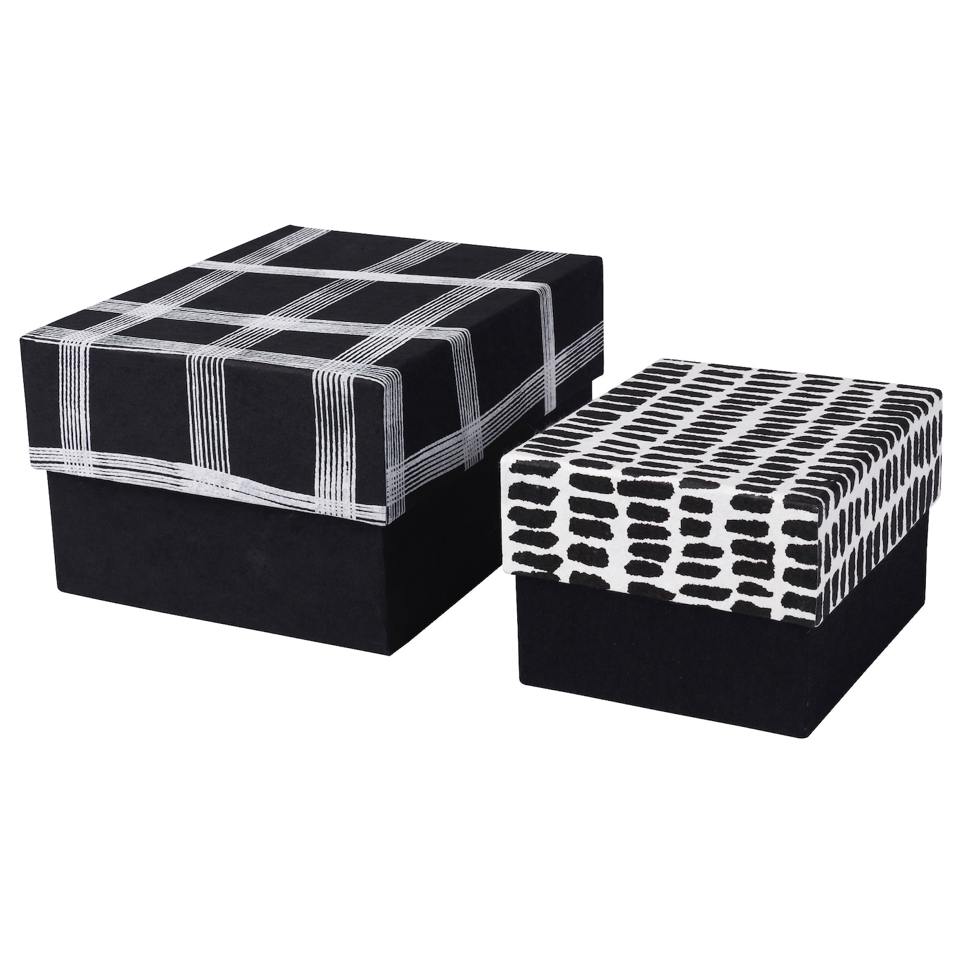 IKEA EFTERTANKE gift box, set of 2 Handmade by skilled craftspeople, making each one unique.