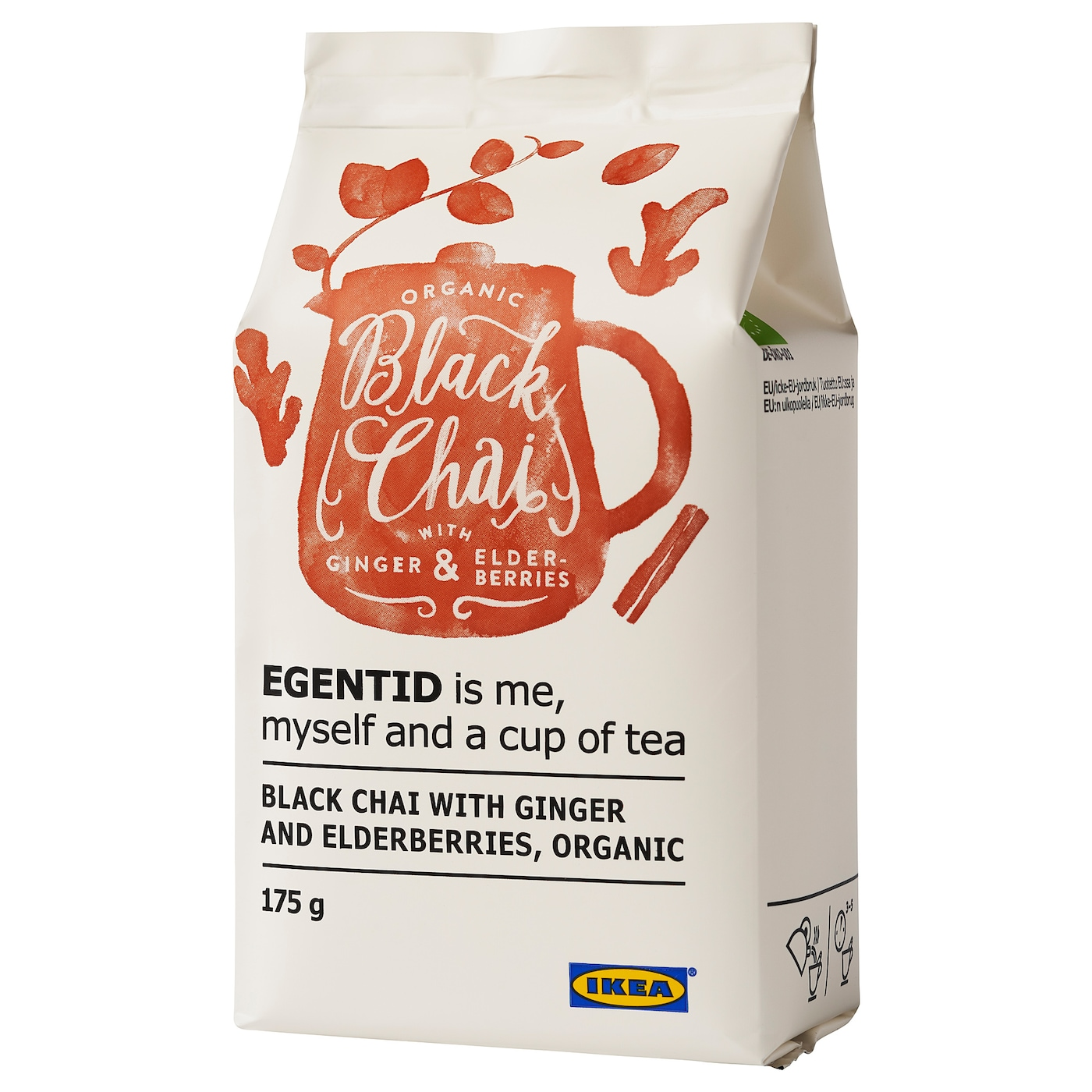 IKEA EGENTID black chai Restore inner peace with the soothing flavours of tea.