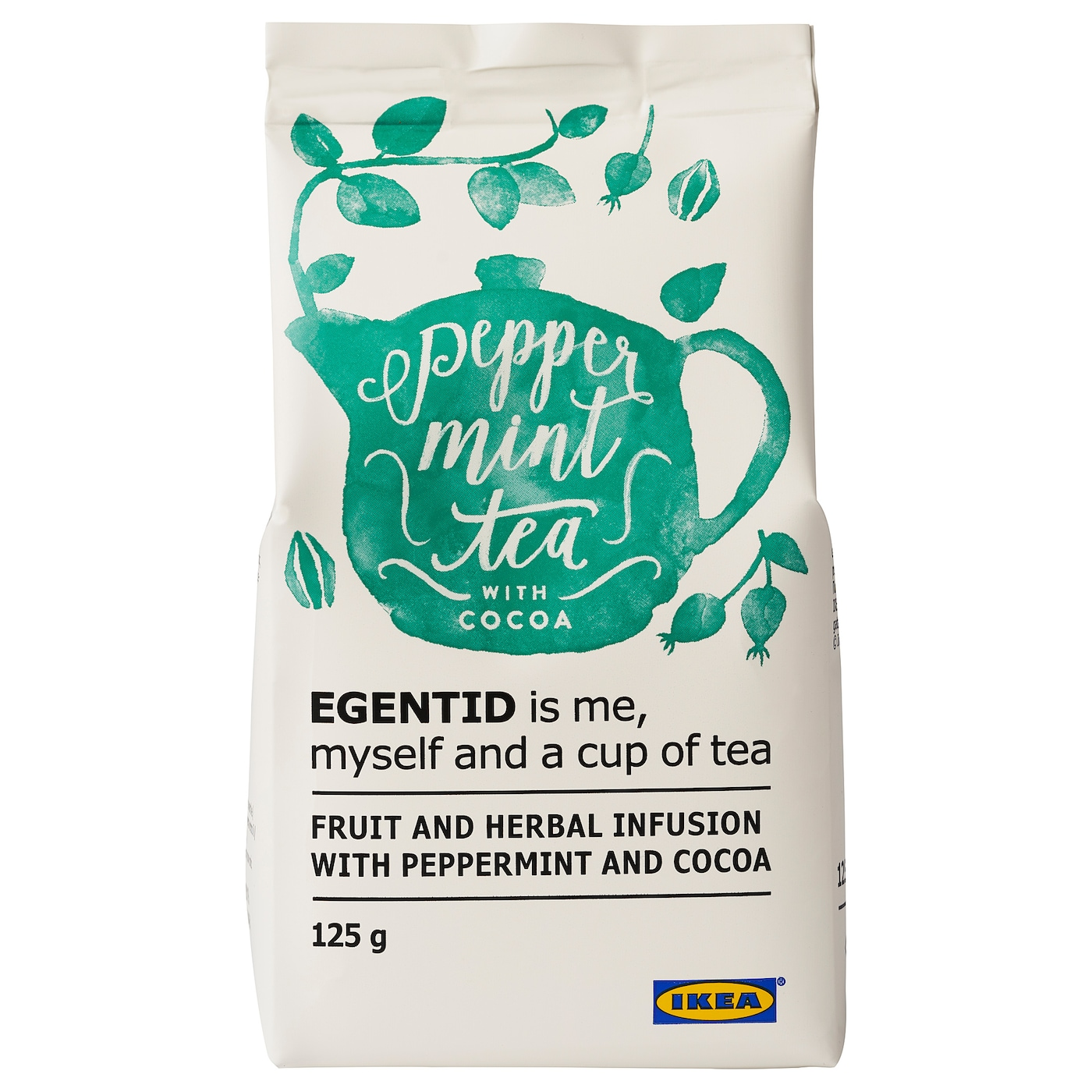 IKEA EGENTID fruit and herbal infusion Restore inner peace with the soothing flavours of tea.