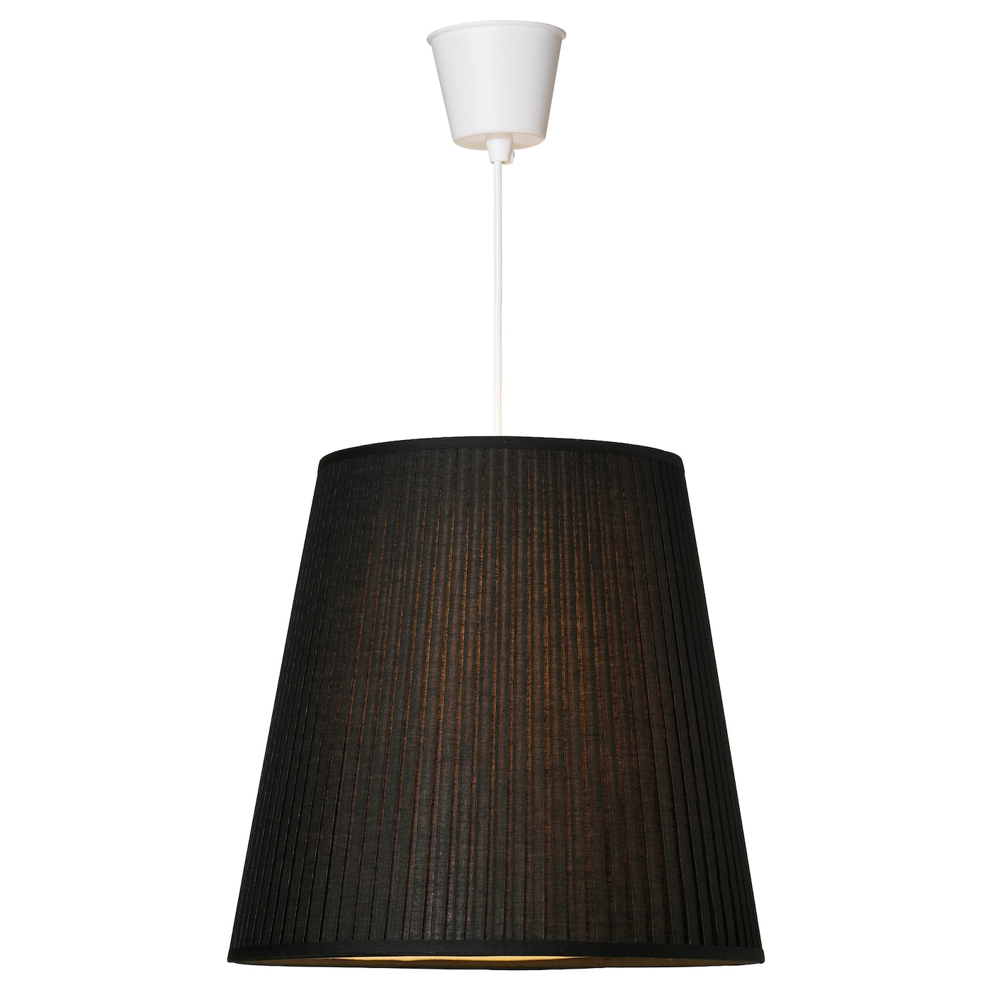 Ek S Lamp Shade Black 34 Cm Ikea