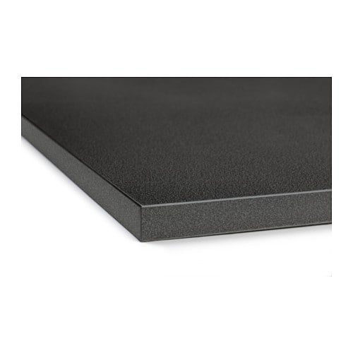Ekbacken worktop black stone effect 246x2 8 cm ikea - Plan de travail corian ikea ...