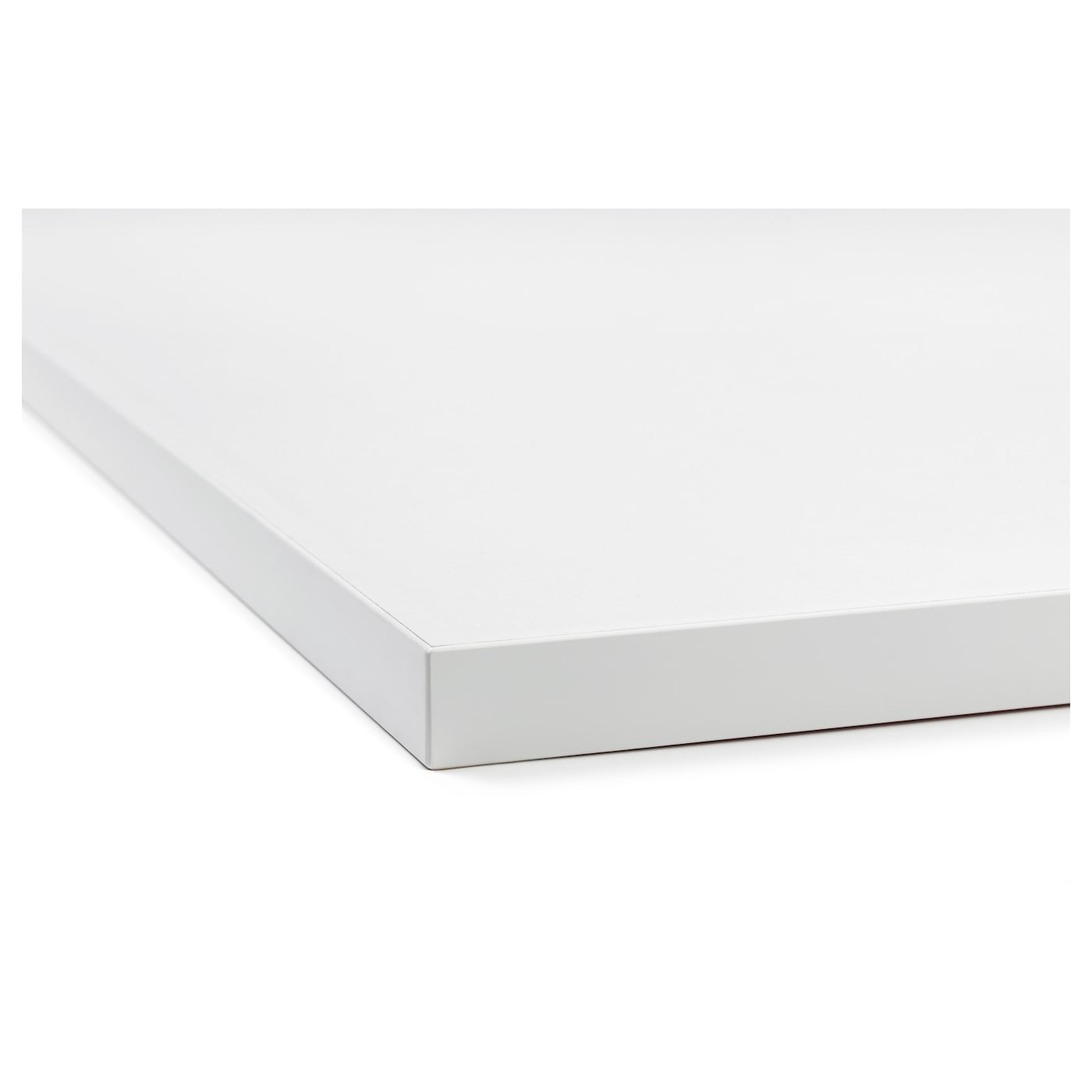 EKBACKEN Worktop, double-sided Light grey/white with white edge 186 ...
