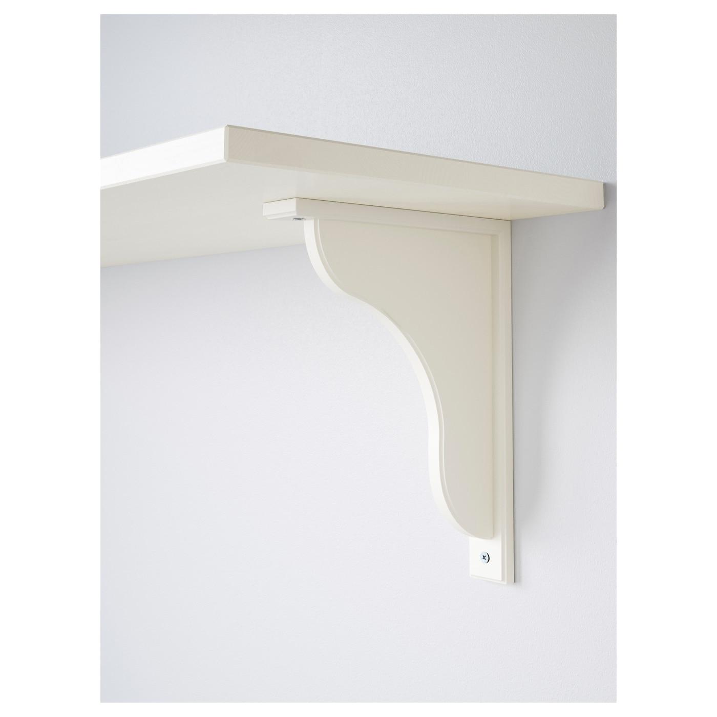 EKBY HENSVIK EKBY HEMNES Wall shelf White stain white 119x28 cm IKEA