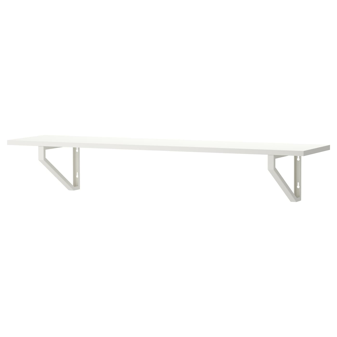 Floating shelves wall shelves shelf brackets ikea - Tablette de lit ikea ...