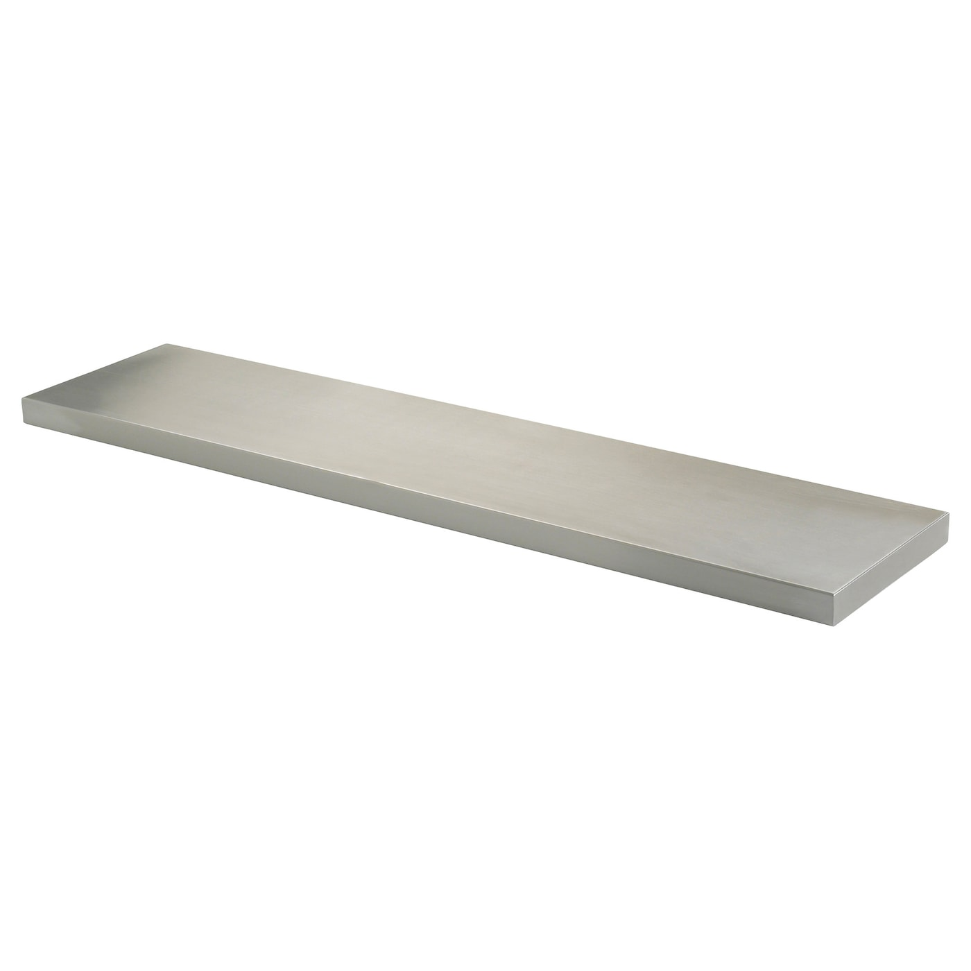 Ekby mossby shelf stainless steel 119x28 cm ikea ikea ekby mossby shelf amipublicfo Image collections