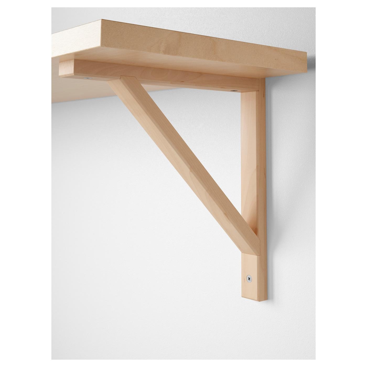 EKBY VALTER Bracket Birch 18 x 23 cm - IKEA