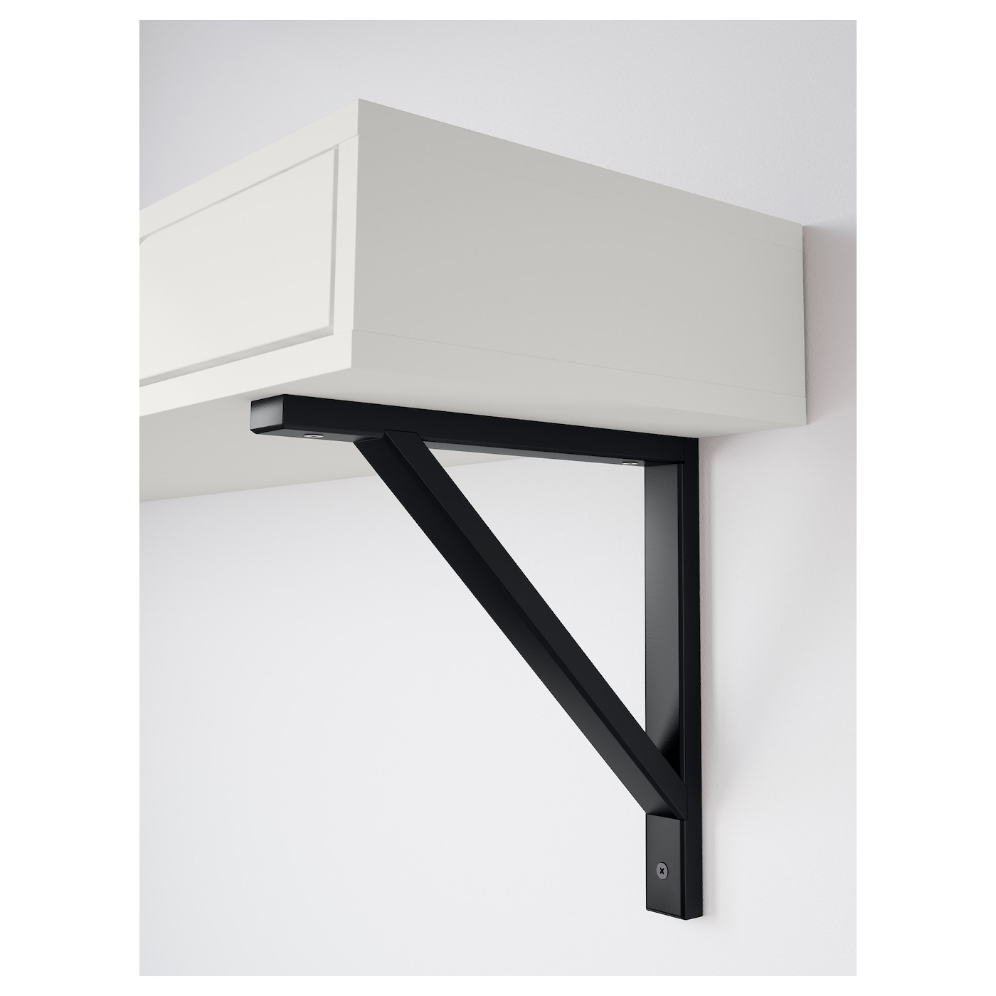 IKEA EKBY VALTER bracket Solid wood is a durable natural material.