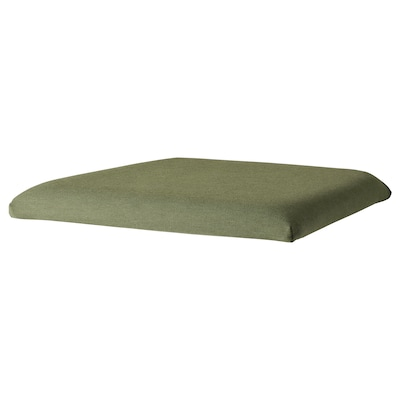 EKEDALEN Chair cover, Ramna olive-green