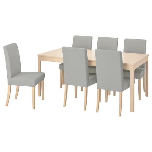 Dining Table And 6 Chairs 6 Seater Dining Table Chairs Ikea