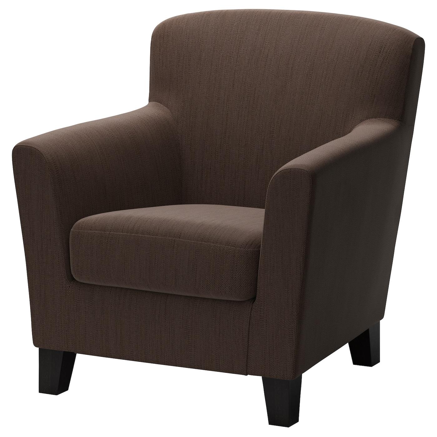 Brown Armchair Ekens Armchair Hensta Dark Brown Ikea