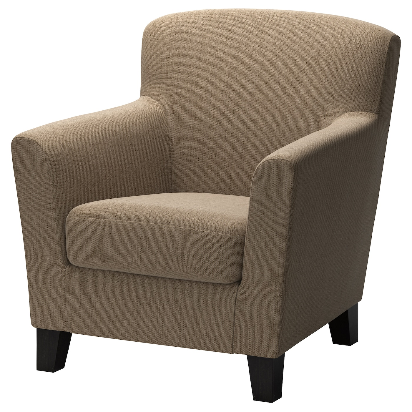 Eken 196 S Armchair Hensta Light Brown Ikea