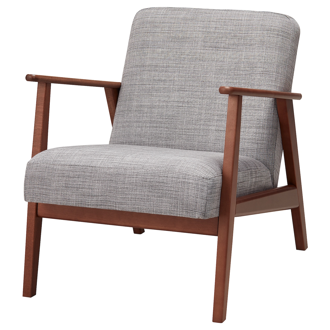 Eken 196 Set Armchair Isunda Grey Ikea