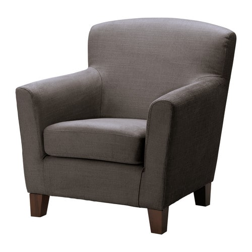 EKENÄS Armchair IKEA High back; provides soft and comfortable support for the neck and head.