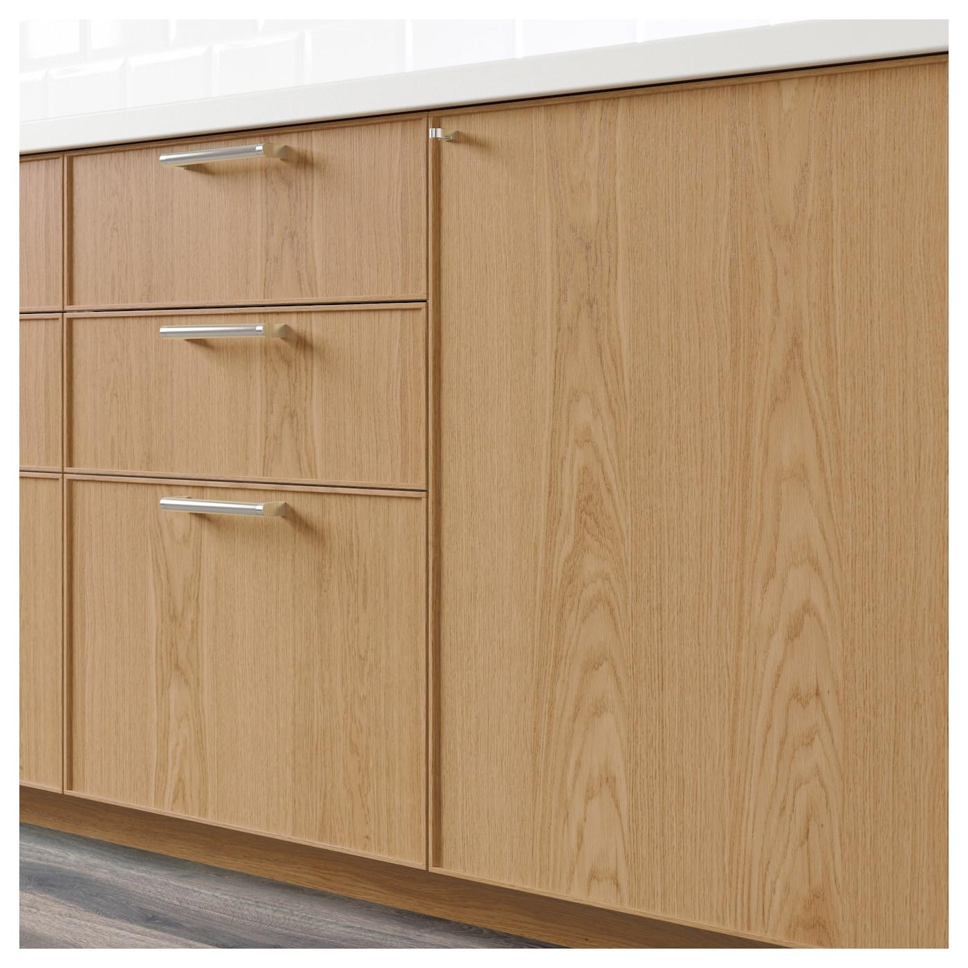 Ekestad 2 P Door F Corner Base Cabinet Set Oak 25 X 80 Cm Ikea