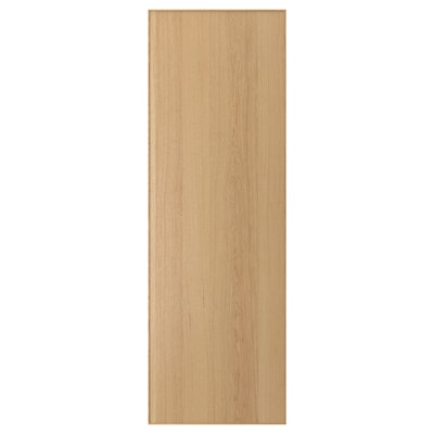 EKESTAD door oak 59.7 cm 180.0 cm 60.0 cm 179.7 cm 1.9 cm