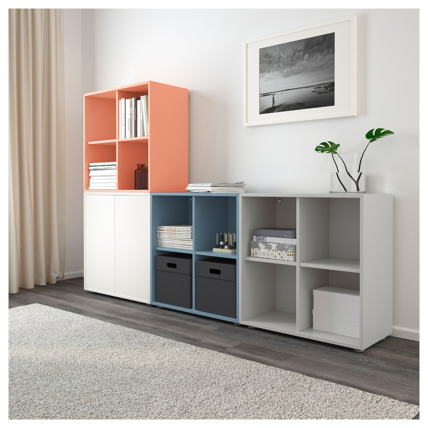 IKEA EKET cabinet combination with feet