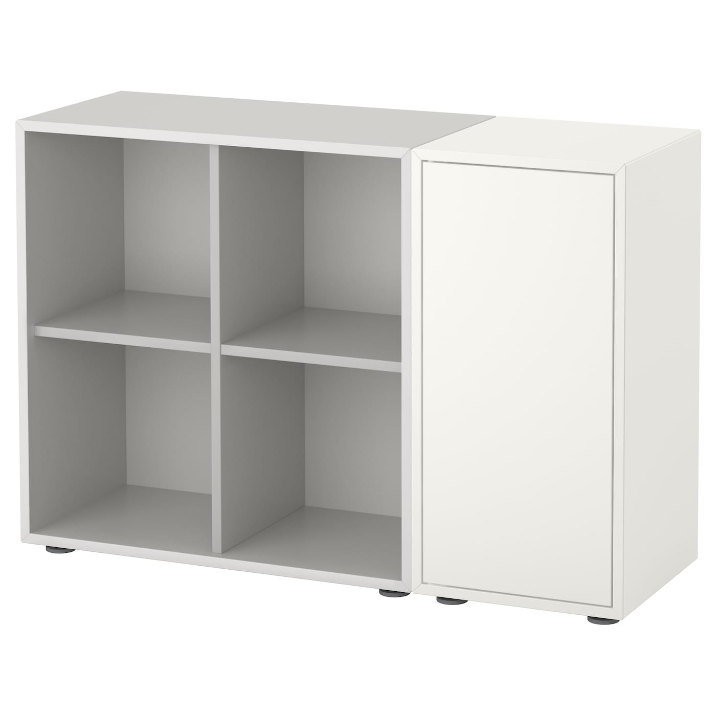 eket cabinet combination with feet white light grey 105 x 35 x 72 cm ikea. Black Bedroom Furniture Sets. Home Design Ideas