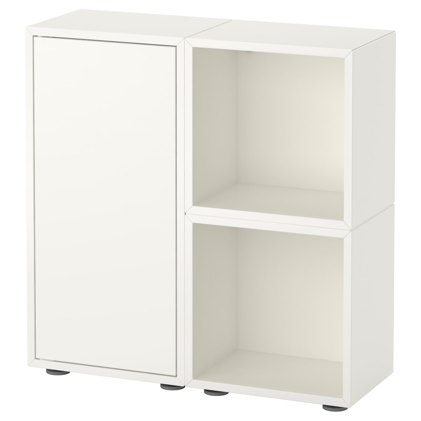 eket cabinet combination with feet white 70 x 25 x 72 cm ikea. Black Bedroom Furniture Sets. Home Design Ideas