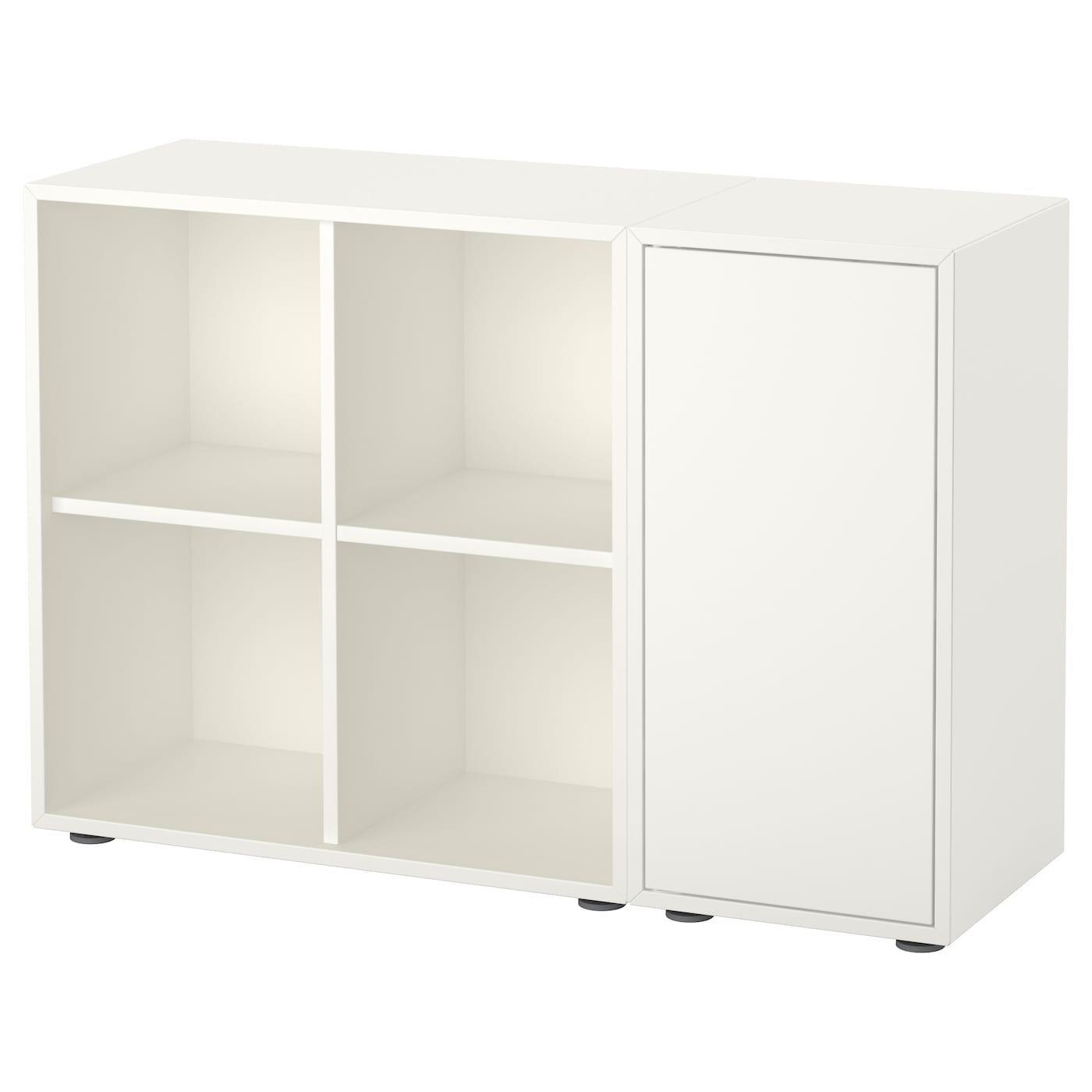 eket cabinet combination with feet white 105 x 35 x 72 cm ikea. Black Bedroom Furniture Sets. Home Design Ideas