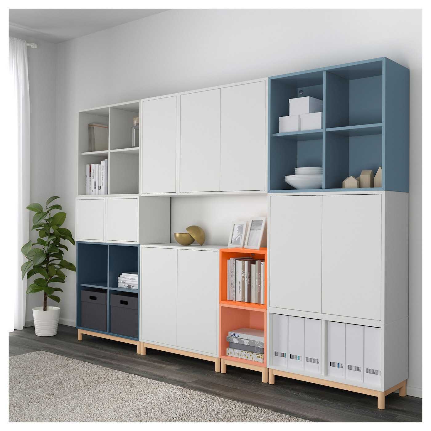 IKEA EKET cabinet combination with legs