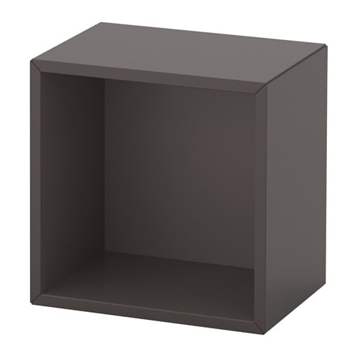 eket cabinet dark grey 35x25x35 cm ikea. Black Bedroom Furniture Sets. Home Design Ideas