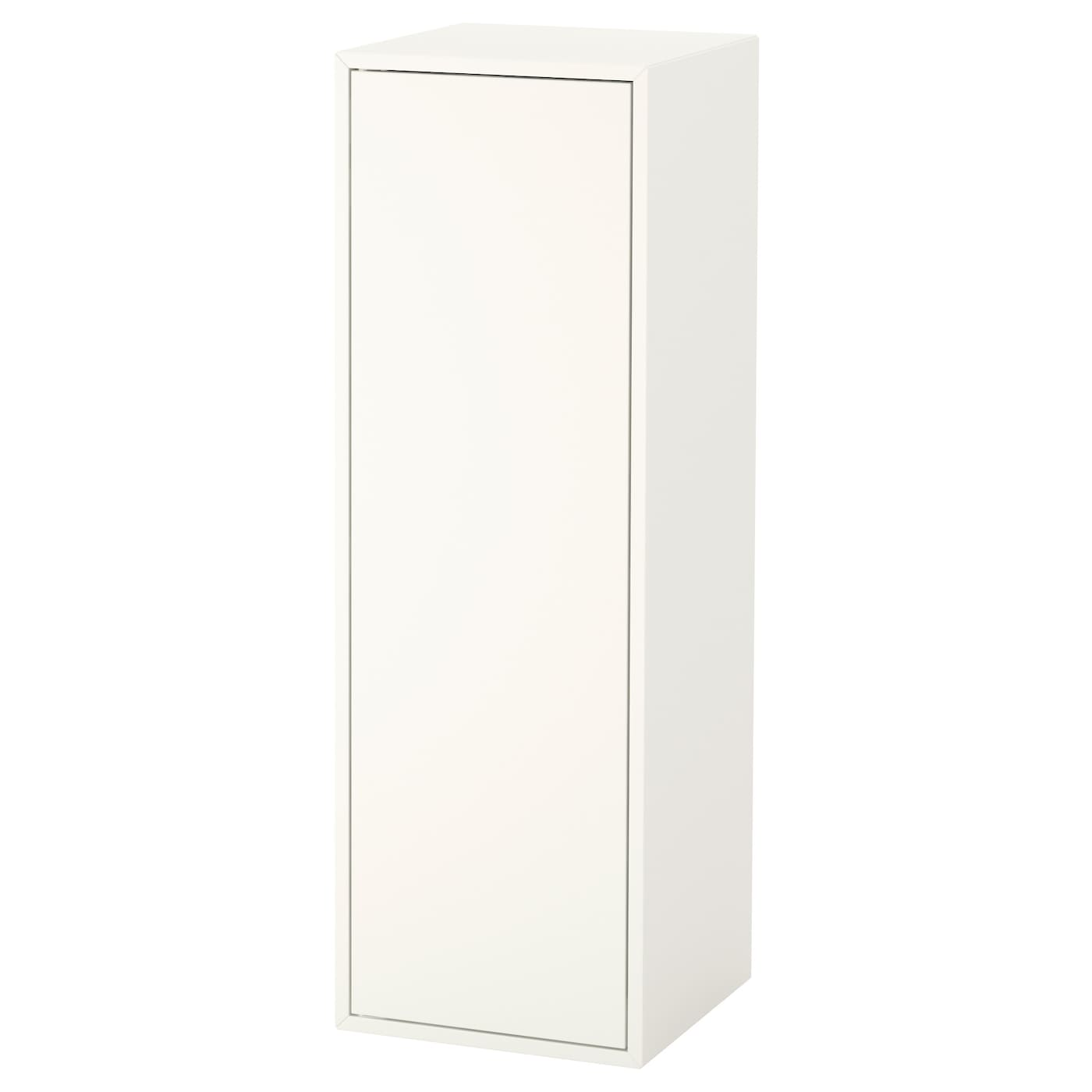 eket cabinet w door and 2 shelves white 35x35x105 cm ikea. Black Bedroom Furniture Sets. Home Design Ideas