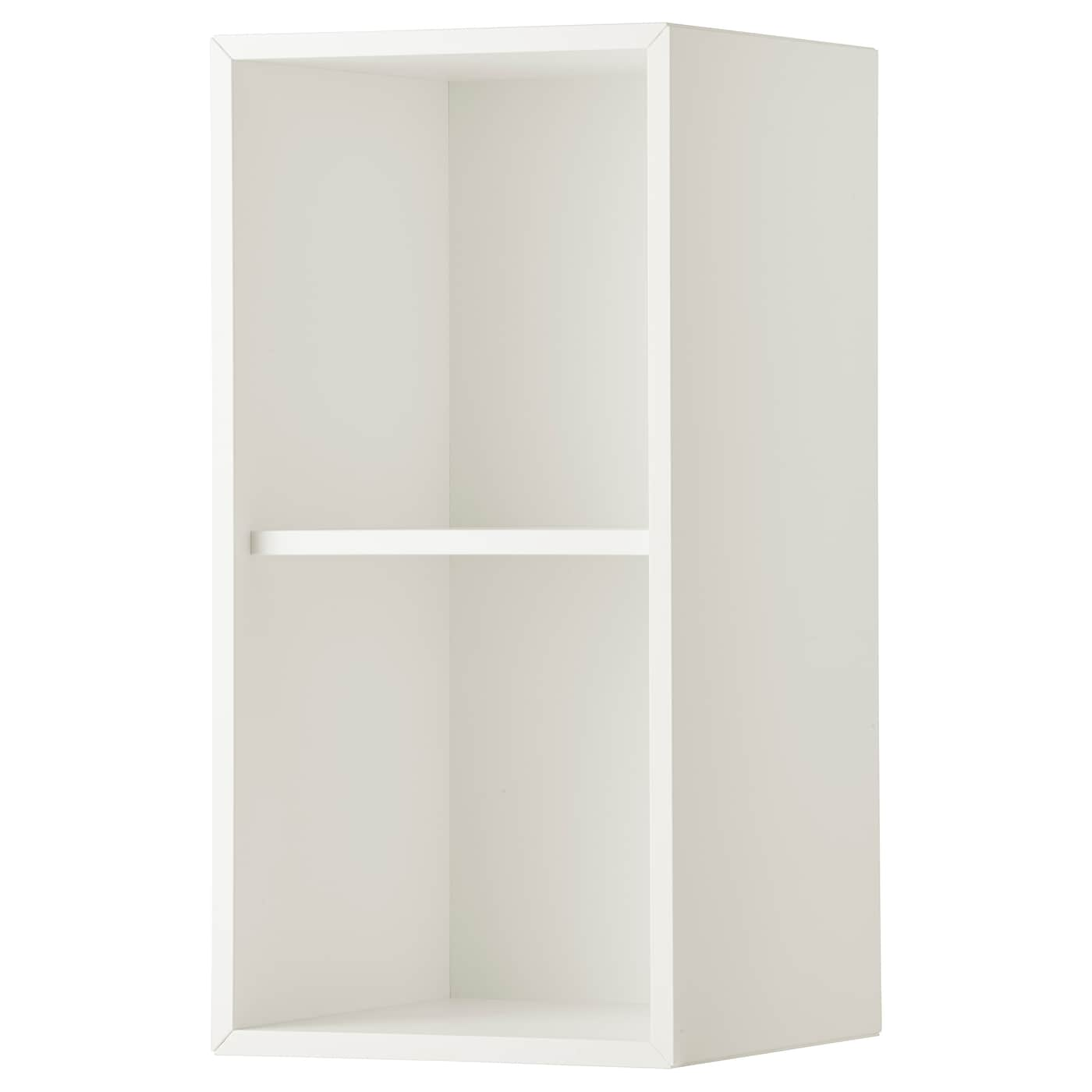 eket cabinet with 2 compartments white 35 x 35 x 70 cm ikea. Black Bedroom Furniture Sets. Home Design Ideas