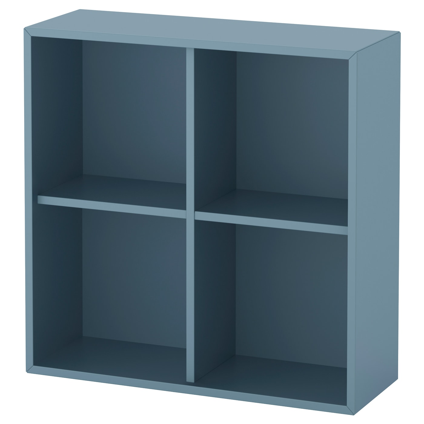 eket cabinet with 4 compartments light blue 70x25x70 cm ikea. Black Bedroom Furniture Sets. Home Design Ideas