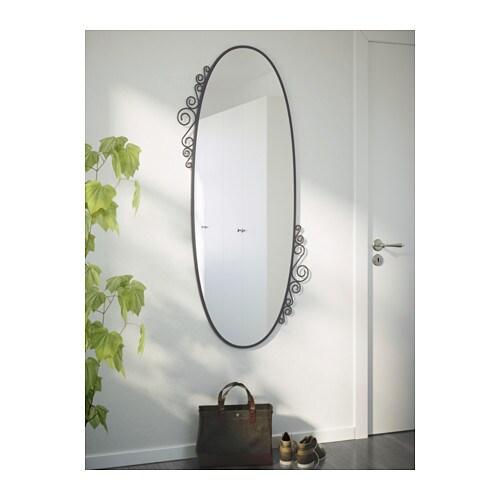 EKNE Mirror Oval 70×150 cm  IKEA