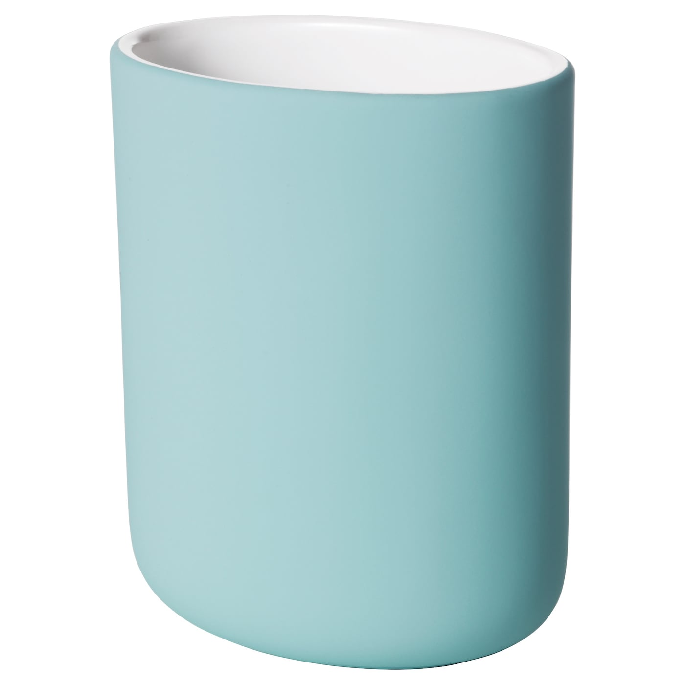 IKEA EKOLN toothbrush holder Easy to keep clean by just wiping with a damp cloth.