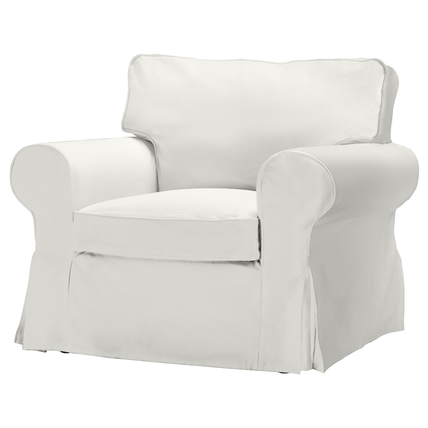 EKTORP Armchair cover Blekinge white IKEA