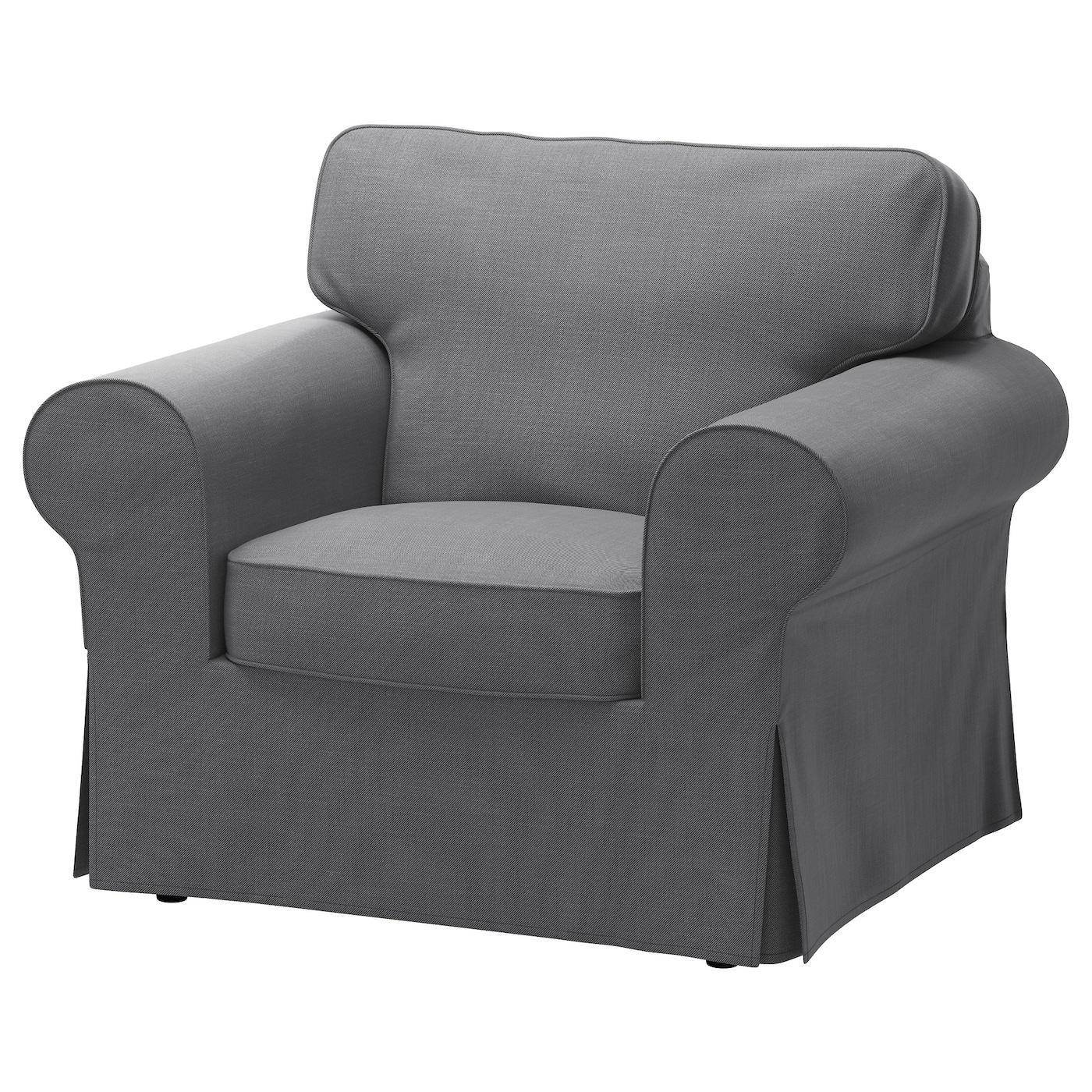 Ektorp Armchair Nordvalla Dark Grey Ikea