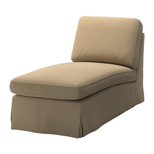 EKTORP Chaise longue IKEA Easy to keep clean; removable dry-clean cover.