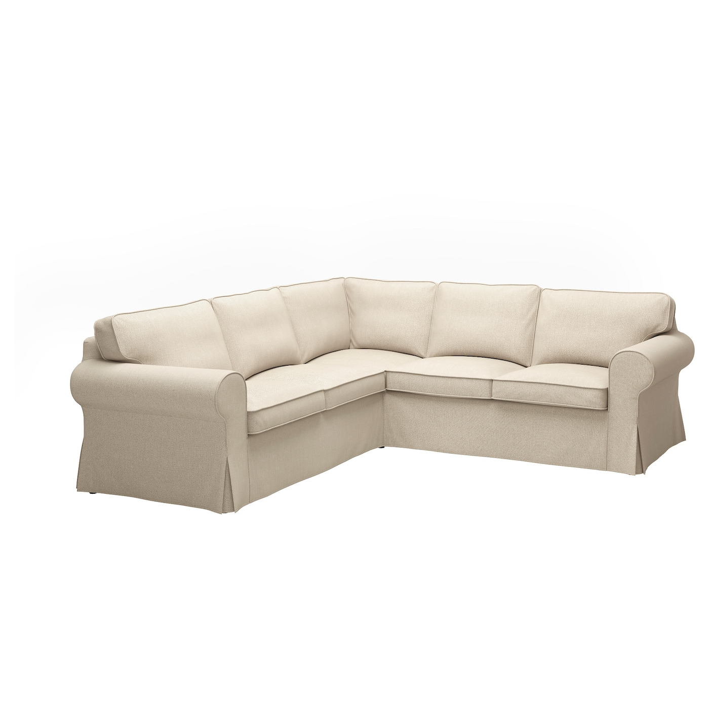IKEA EKTORP corner sofa, 4-seat 10 year guarantee. Read about the terms in the guarantee brochure.