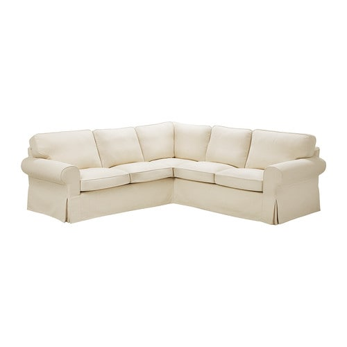 EKTORP Corner Sofa 2+2 IKEA Easy To Keep Clean; Removable, Machine Washable