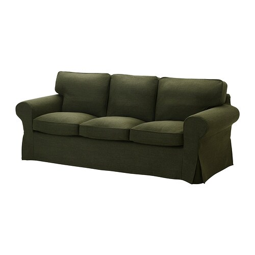 EKTORP Cover three-seat sofa IKEA