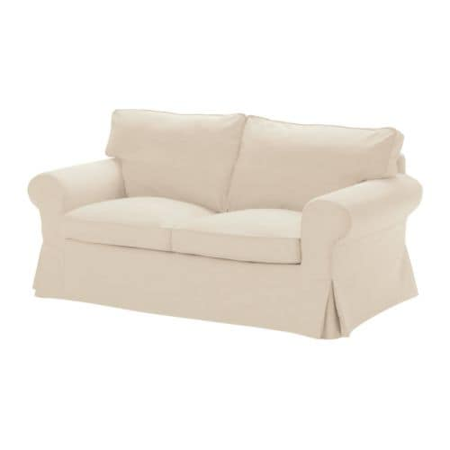 EKTORP Cover two-seat sofa IKEA Easy to keep clean; removable dry-clean cover.