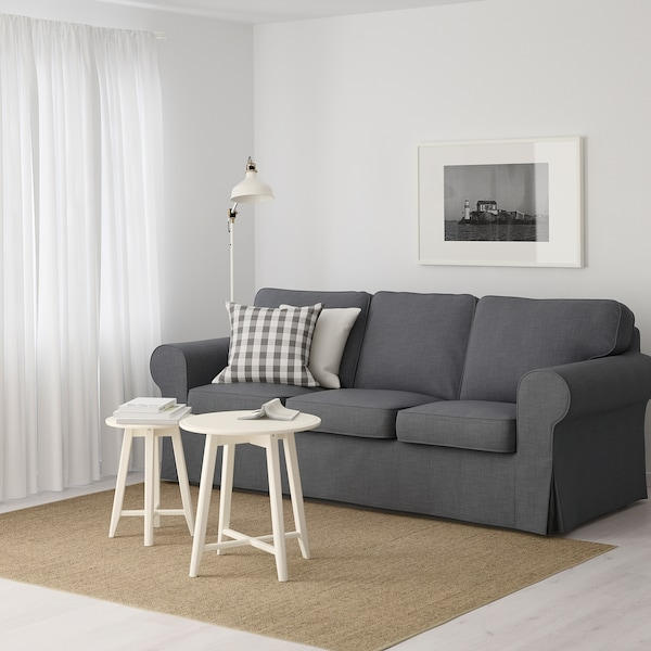 Nordvalla dark grey, Three seat sofa