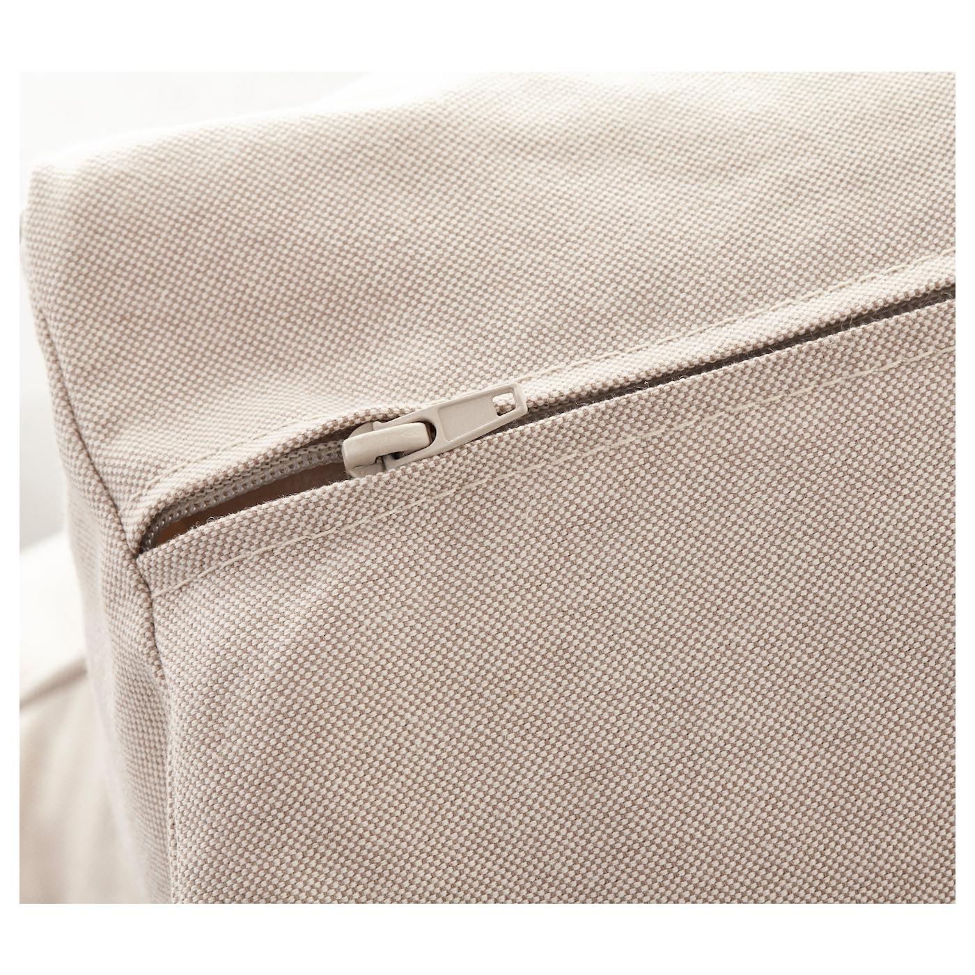 EKTORP Two seat sofa Lofallet beige IKEA