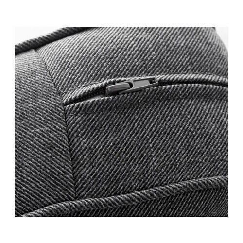 Ektorp Two Seat Sofa Nordvalla Dark Grey Ikea