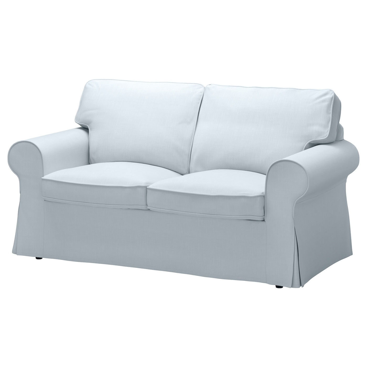Ektorp Two Seat Sofa Nordvalla Light Blue Ikea