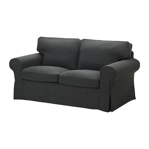 EKTORP Two-seat sofa IKEA Easy to keep clean; removable dry-clean cover.