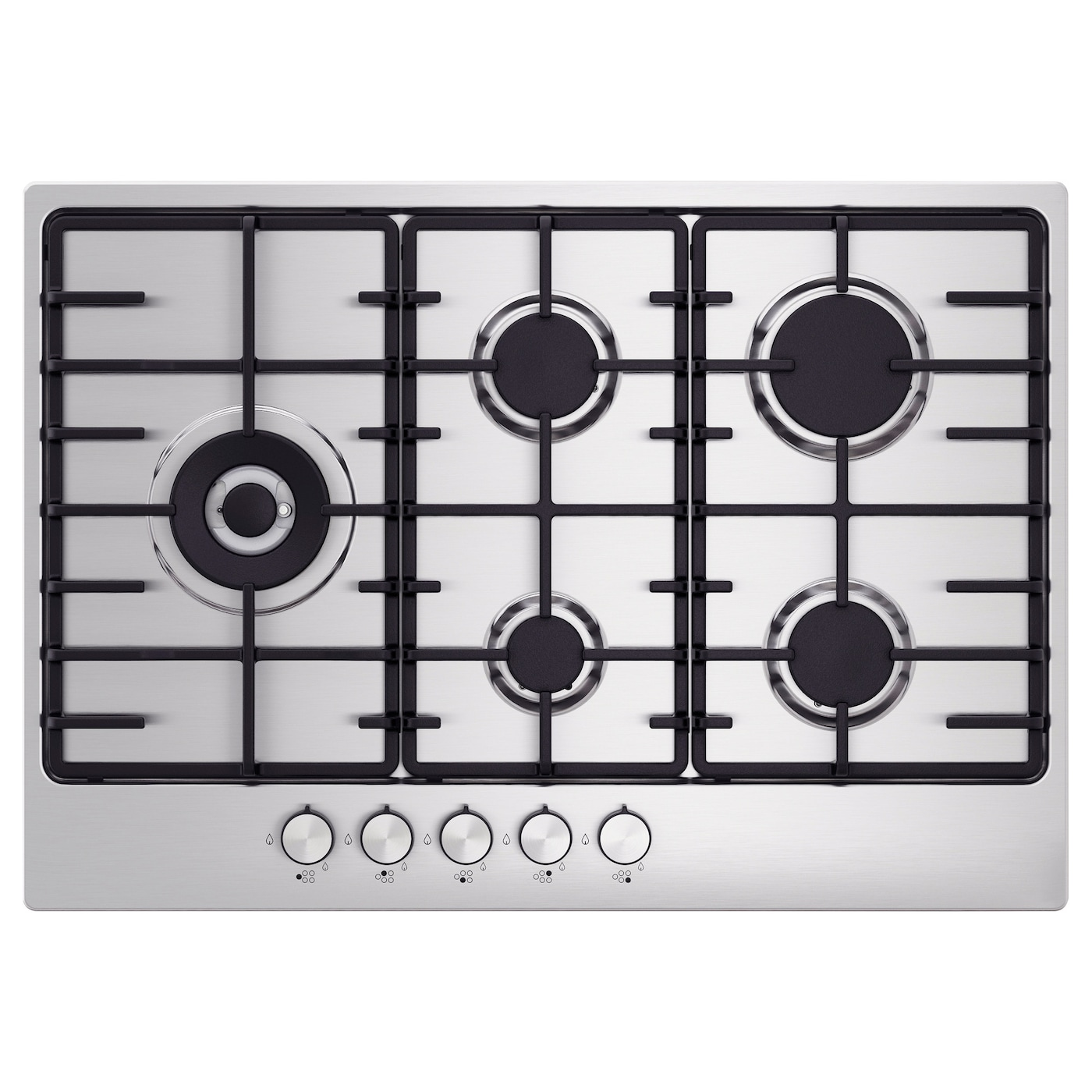 IKEA ELDSLÅGA gas hob 5 year guarantee. Read about the terms in the guarantee brochure.