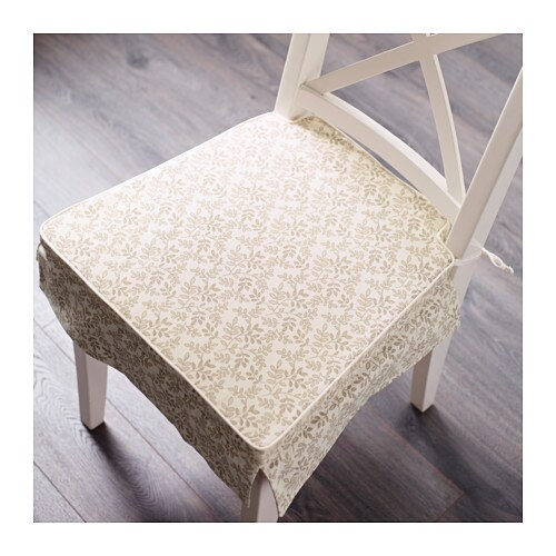 elsebet chair pad beige 43x42x4 0 cm ikea. Black Bedroom Furniture Sets. Home Design Ideas